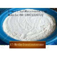 Buy cheap High Purity Testosterone Steroids CAS 58-18-4 17-Methyltestosterone product