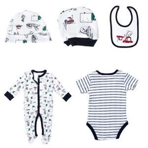 Quality Cotton Newborn Baby Clothes Set , Unisex Newborn Baby Clothes Gift Set for sale