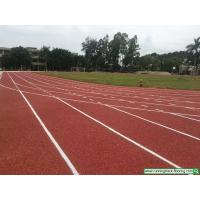 Quality Gym Synthetic Track Surface , Sport Court Athletic Rubber Flooring for sale