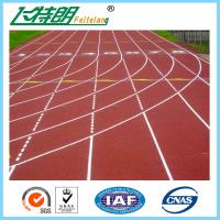 Quality Durable Ventilate Synthetic Rubber Flooring Red / Blue / Green Or Customized for sale