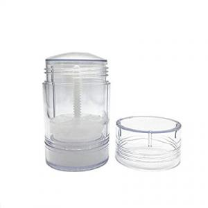 Quality Clear Study Empty Plastic Deodorant Bottles Solid Stick Containers for sale