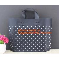 China eco-friendly china factory supply poly soft loop handle carrier bags shopper bags,Factory custom eco hard soft loop hand on sale