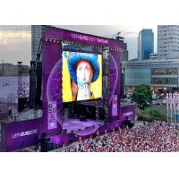 Buy cheap CE SMD1921 P3.91 Outdoor led display rental With Video Processor , Great Waterproof from wholesalers