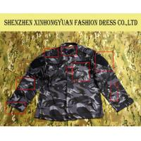 China Cotton Mix Polyester Military Dress Clothing Navy Camouflage Uniform on sale