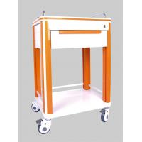 Quality One Drawer Aluminum or Stainless Steel Hospital Medical ABS Nursing Trolleys for sale