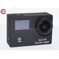 Buy cheap EG3 Double Screen Action Camera With WiFi Dual Display waterproof 1080p Camera product