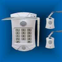 Buy cheap Lifemax Autodial Elderly Medical Help Alarm systems with two panic buttons from wholesalers