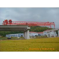 Buy cheap OEM Durable And Reliable Travelling Steel launching Gantry Crane For Railway Construction product
