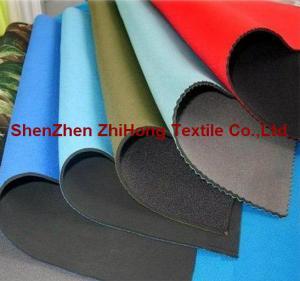 Quality Anti-shock waterproof CR neoprene fabrics for sports/ Medical equipment for sale