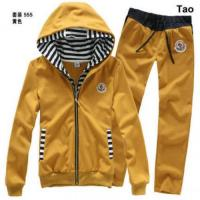 China Moncler winter new style men and women casual twinset cotton hoody and pant blazer jacket on sale