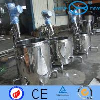 Quality Cold  Hot Chemical Liquid Mixing Tanks With Agitators 50L - 10T for sale