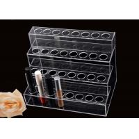 Quality 4 Floor Acrylic Display Stands Holder Plexiglass Lip Gloss Display Environment - Friendly for sale