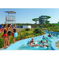 Quality Funny Hotel Resort Lazy River Water Park For Family , PLC Central Control for sale