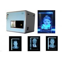 Quality 50DB Sound Level 3D Laser Engraving System 1 Galvo X / Y / Z Motion Controlled for sale
