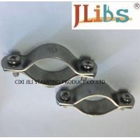 Multicolor Pleated Volt - Endurance Cast Iron Pipe Clamps For Water Pipeline