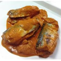Quality Canned sardine fish in tomato sauce WITH COCONUT for sale