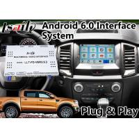 Quality Android 6.0 GPS Navigation Video Interface for Ford Ranger / Explorer SYNC 3 System WIFI BT Mirror link Cast Screen for sale