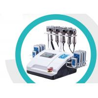 China Rf Cavitation Lipo Laser Slimming Machine Smooth Fatigue With 8 Inch Touch Screen on sale