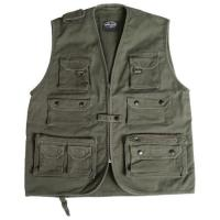 Quality Law Enforcement Equipment Hunting Shooting Vest King Tactical Vests 600D , 1000D for sale