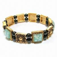 China Magnetic Therapy Hematite Bracelet with Strong Magnetic Field, Can Promote Blood Circulation  on sale