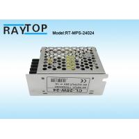 Quality LED Light Metal Cased Switching Mode Power Supply 24V 1A  CE RoHS FCC Approved for sale