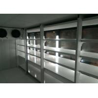 Buy cheap Back Loading Display Walk In Freezer Room , Led Light Industrial Cold Room from wholesalers