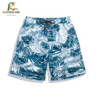 Quality custom sublimation printing quick dry swim shorts surfing boardshorts men for sale