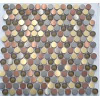Quality new design of moais stainless steel mosaic PY-FL004 for sale