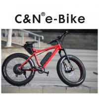 Quality 70km/H Max Speed All Terrain Fat Tire Bike For Mountain / Snow / Sand Beach for sale
