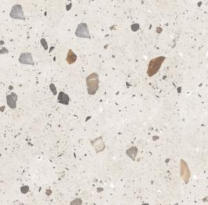 Quality Modern 9.8mm Thickness Terrazzo Porcelain Floor Tiles For Bathroom for sale
