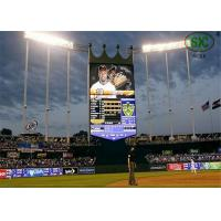 Quality Flexible Moving Outdoor Video Screens P10 With Module 160mm x 160mm for sale