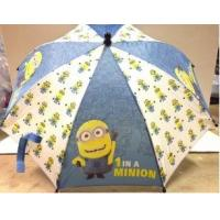 Quality kids 2015 New Minions White & Blue Kids Umbrellas-8710 for sale