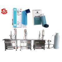 Quality Pharmaceutical Dose Inhaler Asthma Spray Filling Machines for sale