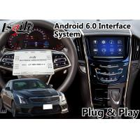 Quality Android 6.0 Navigation Interface for Cadillac ATS / XTS with CUE System 2014-2018 Waze WIFI Google Play Store for sale