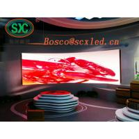 Quality P3.91 Indoor Stage LED Screens Full Color AC90 - 260V 50 - 60Hz Operation Power for sale