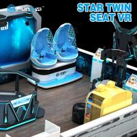 Buy cheap Two Seats 9D VR Ride Cabin Cinema Virtual Reality simulator For Kids Amusement Park from wholesalers