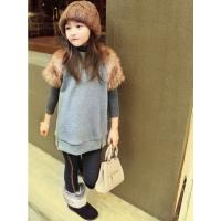 Quality free sample 2014 new fashion children clothing girls t- shirt mix order wholesale for sale