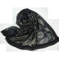 Quality Burnt-out Silk Scarf (HP1297) for sale