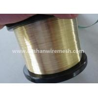 Quality Bashan Soft EDM Brass Wire 0.1-0.3mm For EDM Wire Cut Machine for sale