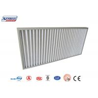 Quality HVAC System Synthetic G3 G4 Pleated Panel Air Filters Cleanroom Solutions for sale