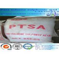 Buy cheap CAS 104-15-4 Para Toluene Sulphonic Acid White Crystalline Powder C7H8O3S product