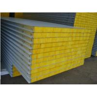 Quality Fire resistance rock wool sandwich panel for sale