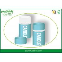 Quality Custom Printed Candle Packaging Boxes 100% Eco Kraft Stamping Logo Well - Sealing for sale