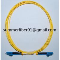 China Factory Price LC/LC SM Duplex Optical Fiber Patch Cord on sale