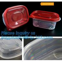 Quality food crisper,Fresh Keeping Box Round Vacuum Food Container with Press & Push Lid,sealed food storage box food grade vacu for sale