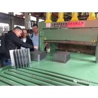 Quality High Efficiency Corrugated Fin Forming Machine , Steel Radiator Fin Forming Machine for sale