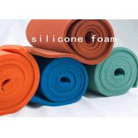 China Open Cell Silicone Foam Sheet Roll For Ironing Table / Presses Machine on sale