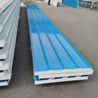 China Precast Insulated Sandwich Panel / Polyurethane Cold Room Panels Ceiling on sale