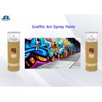 Quality Fast Drying Acrylic Art Graffiti Spray Paints 400ml Female Valve and Low / High Pressure for sale