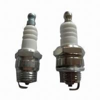 China Lawn Mower Spark Plugs with 9.5mm Reach, 19mm Hex and 0.6mm Gap on sale